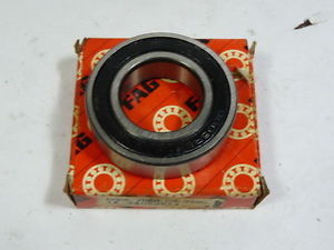 high temperature Fag 6006-2RSR-C3 Bearing 30×55-13mm Sealed !  !