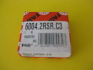high temperature 6004.2RSR.C3 (Single Row Radial Bearing) FAG