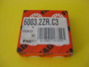 high temperature 6003.2ZR.C3 (Single Row Radial Bearing) FAG