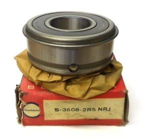 """high temperature CONSOLIDATED BEARING S-3608-2RS NRJ, FAG 6308RS, APPROX 3 7/8"""" OD, 1 1/2"""" ID"""