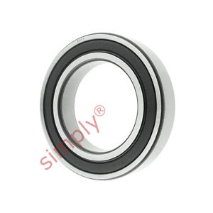 high temperature FAG 60112RSR Rubber Sealed Deep Groove Ball Bearing 55x90x18mm