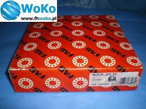 high temperature Bearing NU 317 EJP1C3,NU-317-E-JP1-C3 FAG dimension 85x180x41 FAG fast shipping