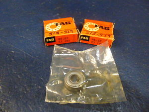 high temperature Lot Of 2 FAG R6.2Z Bearing R62Z C3 (M) Double Shielded