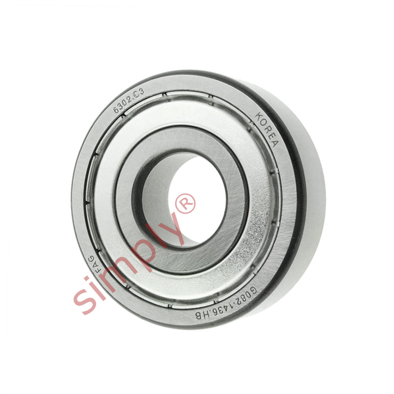 high temperature FAG 63022ZC3 Metal Shielded Deep Groove Ball Bearing 15x42x13mm