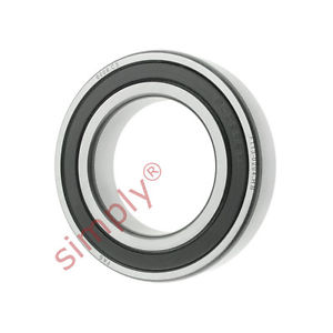high temperature FAG 60082RSRC3 Rubber Sealed Deep Groove Ball Bearing 40x68x15mm