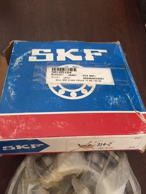 high temperature New SKF 314-Z Deep Groove Ball Bearing 150 X 70 X 35 mm. FREE SHIPPING