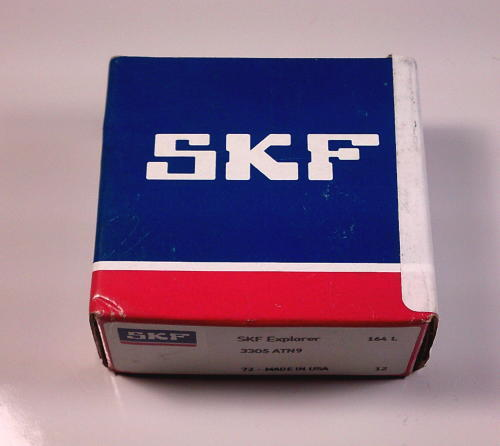 high temperature SKF Explorer 3305 ATN9 Angular Contact Ball Bearing, Double Row, *Factory Seal*