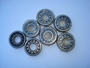 high temperature Lot of 7 pcs NOS Inner race roller Bearings NU305E; SKF, STEYR, NTN etc 25x62x12