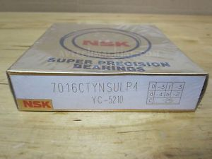 high temperature NSK PRECISION BEARING ANGULAR CONTACT BEARING 7016CTYNSULP4