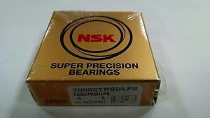 high temperature New NSK 7005 CTRSULP3 Super Precision Bearing 7005CTRSULP3