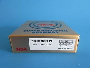 high temperature NSK7008CTYNDBL P4 Abec-7 Super Precision Angular Contact. can be match to pair