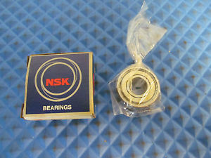 high temperature New Old Stock NSK Bearing 6201ZZC3 Free Shipping Buy it Now=2 pieces