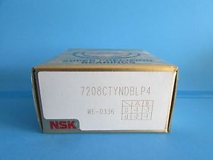 high temperature Set of Two NSK7208CTYNDBL P4 ABEC-7 Super Precision Spindle Bearing.