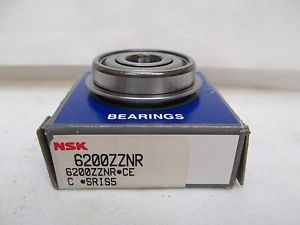 high temperature  NSK FLANGED ROLLER BEARING 6200ZZNR 6200Z