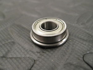 high temperature NSK F698ZZ  Flanged Bearing, 8mm x 19mm x 6mm w 22mm x 1.5mm flange