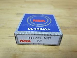 high temperature NSK BEARING DEEP GROOVE BALL BEARING  6805ZZ
