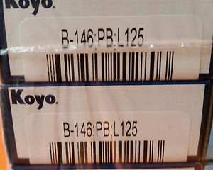 high temperature KOYO B-146 BEARING