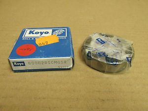 high temperature NIB KOYO 60062RS BEARING DOUBLE RUBBER SHIELD 60062RSCMGSR 6006 2RS 30x55x13 mm
