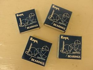 high temperature Koyo bearings (LOT OF 4) EE11/2ZZM3