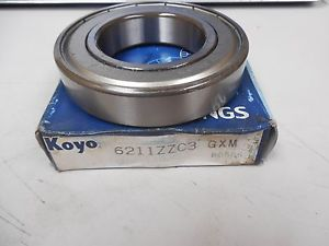 high temperature KOYO BEARING 6211ZZC3 GXM 6211ZZC3GXM 6211ZC3 NIB
