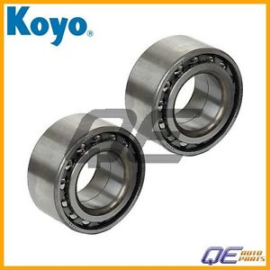 high temperature 2 Front Wheel Bearings Koyo 9036938011 Fits: Geo Prizm Toyota Corolla Chevrolet
