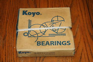 high temperature Koyo 6317-ZZXNR Shielded Deep Groove Bearing w/snap ring 6317ZZ   **  **
