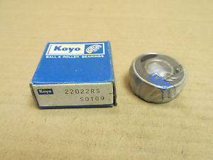 high temperature NIB KOYO 22022RS BEARING RUBBER SHIELD BOTH SIDES 2202 2RS 15x35x14 mm