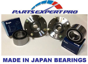 high temperature 2 1992-2000 HONDA CIVIC DX, LX, HX FRONT WHEEL HUB & KOYO BEARING SET W/O ABS