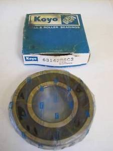 high temperature New Koyo Roller Bearing Model 63142RSC3 NIB NIP GSR M9S09