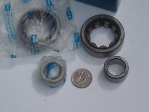 high temperature 2 Bearing Sets Koyo Inner / outer ring assembly NU304C3 09612 09714