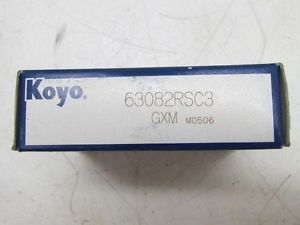 high temperature Koyo 63082RSC3 GXM Bearing NIB