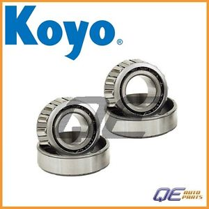 high temperature 2 Front Outer Wheel Bearing Koyo 9036821001 For: Isuzu Pickup Mercedes W116 W123