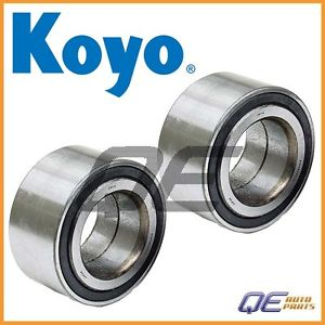 high temperature 2 Front Wheel Bearing Koyo 44300SF1008 For Acura Integra 1.7L 1.8L Honda Prelude