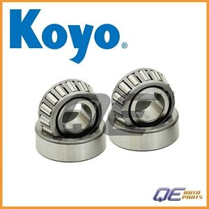 high temperature Set of 2 Front Outer Wheel Bearing Koyo 139133075 For: Mazda RX-7 1984-1985 1.1L