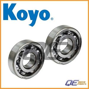 high temperature 2 Rear Inner Wheel Bearing Koyo 906010013 For: Subaru Deluxe GL Justy 1987-1988