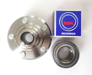 high temperature 1 KOYO / NSK Front Wheel Bearing & 1 Front L/R hub Set HONDA ODYSSEY  1999-2004