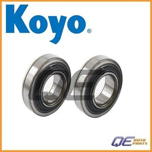 high temperature 2 Rear Wheel Bearings Koyo 0926935036 For: Suzuki 1985 SJ410 Samurai 1986 – 1995