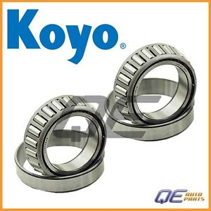high temperature 2 Wheel Bearings Rear Inner or Front Outer Koyo 40215D0100 For: Infiniti Nissan