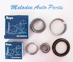 high temperature KOYO Japanese Front Inner & Outer Bearing & Seal set for 95-01 FORD EXPLORER 2WD