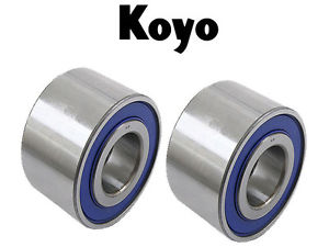 high temperature PAIR of KOYO Rear Wheel Bearing 04421-28020 Toyota Previa 1991-1997 w/Rear Disk