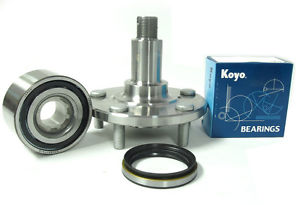 high temperature KOYO OEM Japanese Wheel Bearings w/ Front Hub  841-84018 Lexus