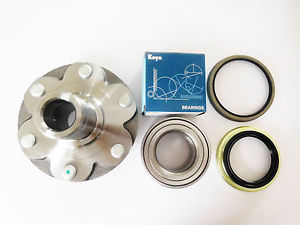 high temperature 1 KOYO / NSK Front Bearing & 1 Front Hub TOYOTA TUNDRA / 4RUNNER / SEQUOIA 4×4