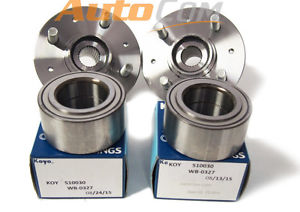 high temperature KOYO OEM Wheel Bearing w/ FRONT Hub SET 841-72023 Acura Integra GS-R 94-01