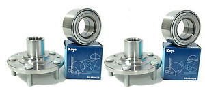 high temperature KOYO OEM Wheel Bearings  w/ Front Hub SET 841-74012 MAZDA SPEED 6   2.3L '06-'07