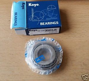 high temperature 30203JR KOYO Japan Tapered Roller Bearing  17x40x13.25mm 1 piece
