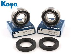 high temperature GSXR 600 K1 K2 K3 K4 K5 K6 K7 Genuine Koyo Front Wheel Bearing & Seal Kit