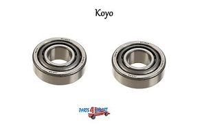 high temperature Mercedes W116 W123 280S 280CE Set of 2 Front Outer Wheel Bearings Koyo