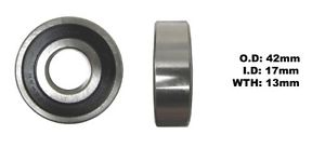 high temperature Bearing Koyo(ID 17mm x OD 42mm x W 13mm)DG1742RS-C3 (Each)