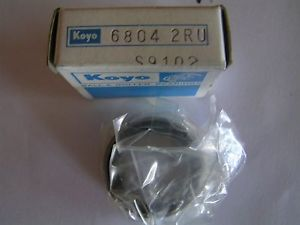 high temperature KOYO BEARING 6804-2RU 20x32x7mm
