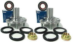 high temperature KOYO Wheel Bearing w/Autocom REAR Hub Set (PAIR) 841-82003-Su-Im-R 99-01